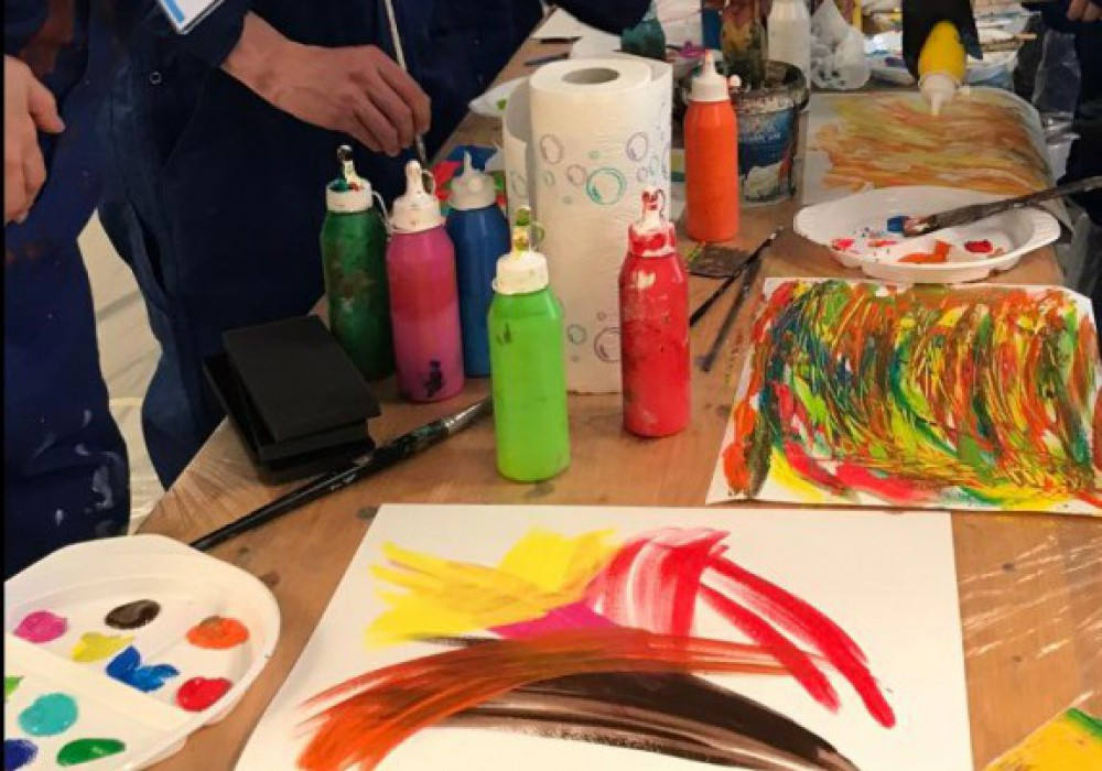 Action-Painting-Event